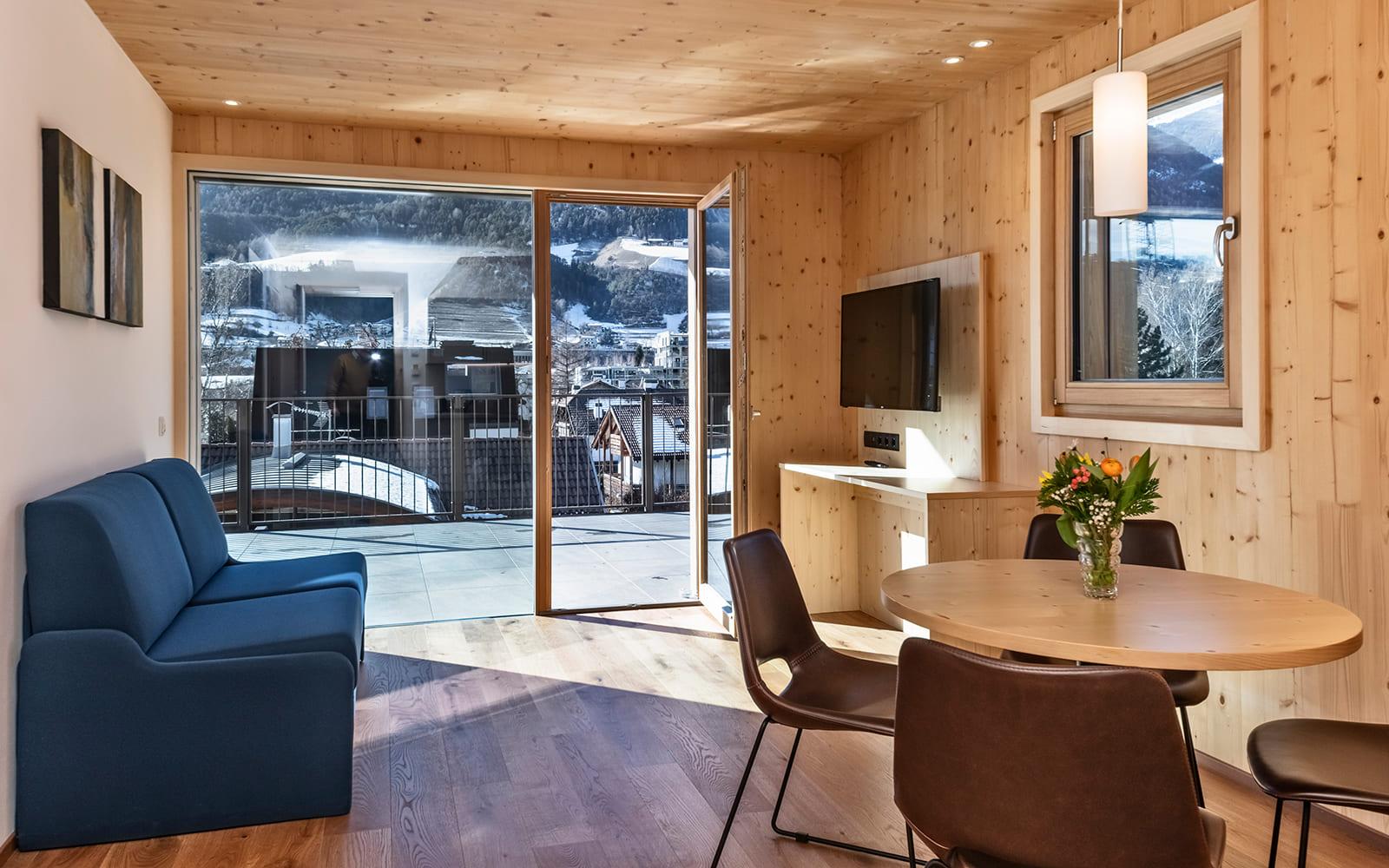 Residence Nives - Loft mit Terrasse