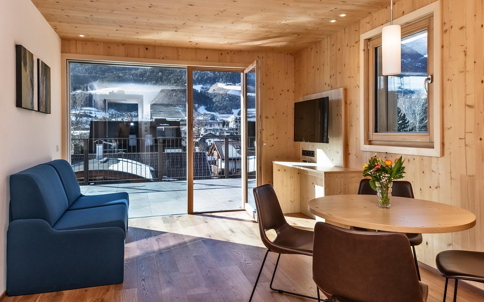 Residence Nives - Natürlich gebaut, nachhaltig schön