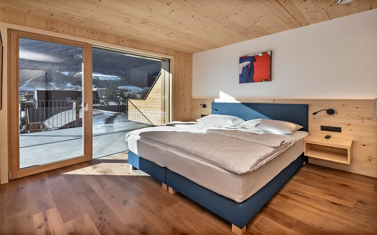 Residence Nives - Penthouse mit Terrasse